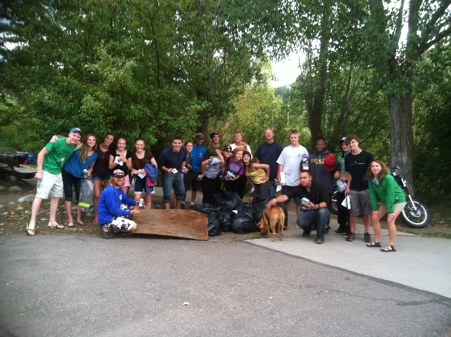 Yampa River Clean Up