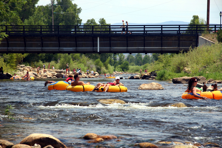 tubers on the yampa