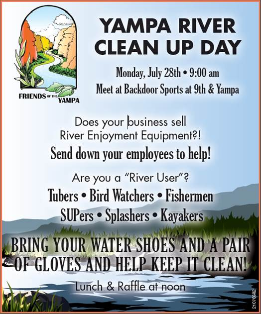 Yampa River Clean Up Day