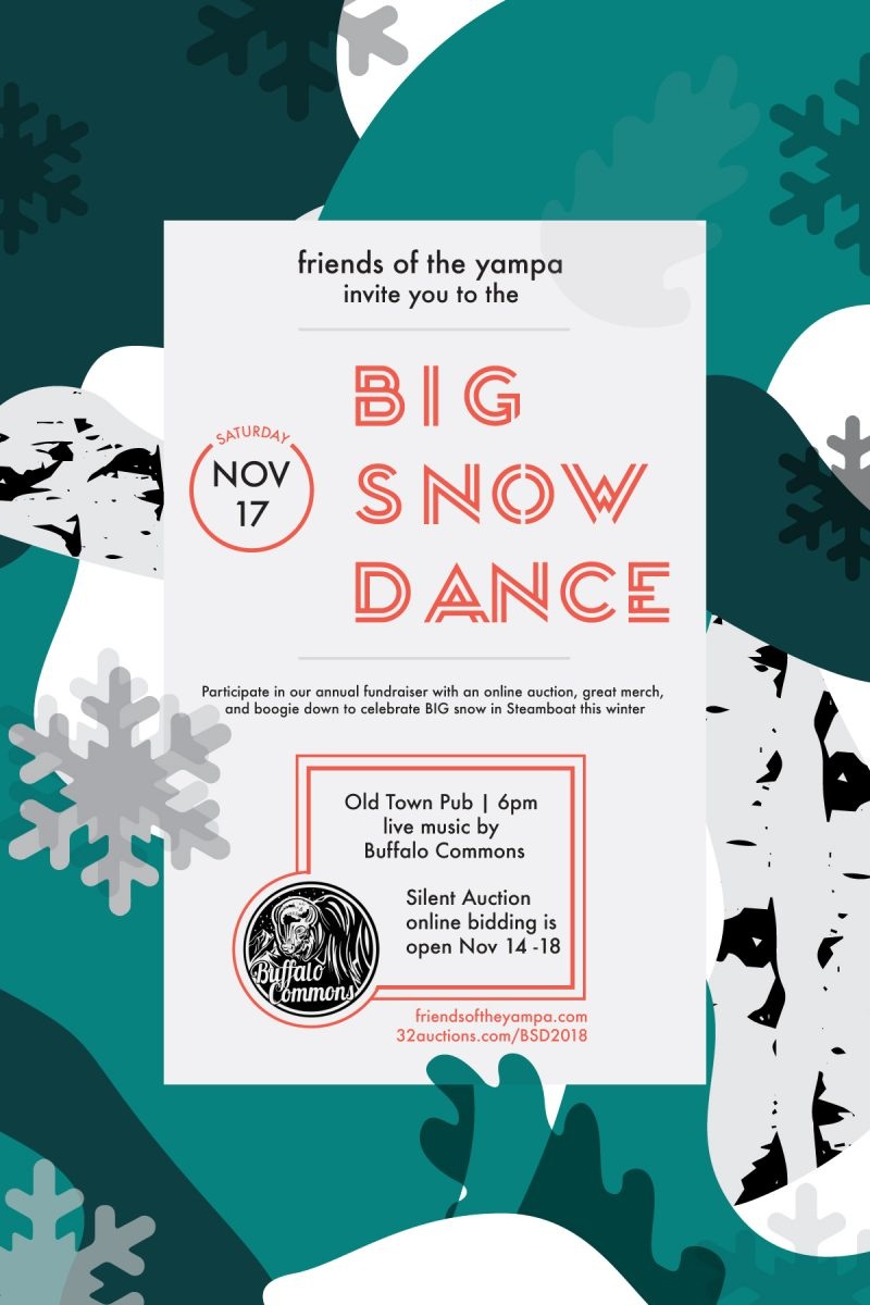 The Big Snow Dance Fotys Annual Fundraiser Friends Of The Yampa