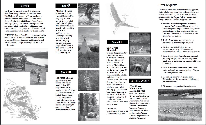 Yampa River's - Little Yampa Canyon Recreation Guide